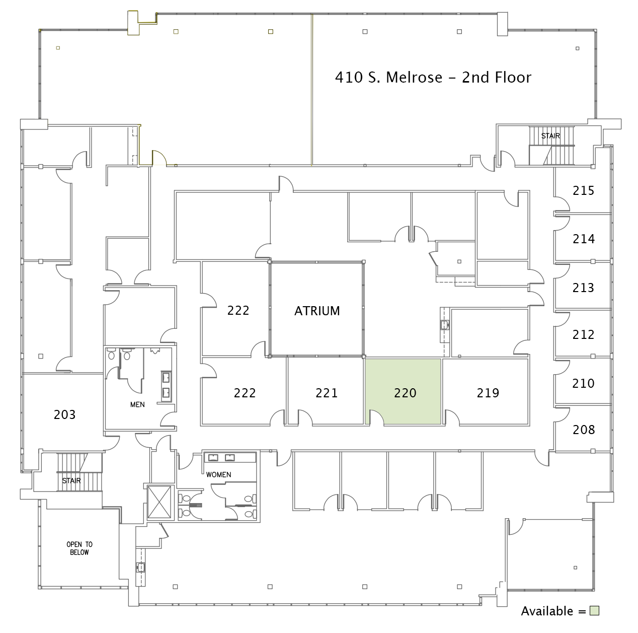 410 2nd floorplan
